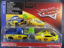 DISNEY PIXAR CARS DEXTER HOOVER CHARLIE CHECKER DINOCO 400 2 PACK 2018 SAVE 5%