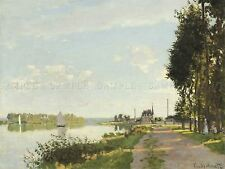 CLAUDE MONET FRENCH ARGENTEUIL OLD ART PAINTING POSTER PRINT BB5124A