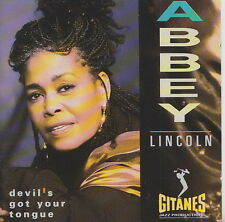 ABBEY LINCOLN  CD DEVIL'S GOT YOUR TONGUE