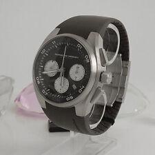 Runde Porsche Design Armbanduhren aus Edelstahl mit Datumsanzeige