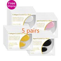 24K Gold Collagen Eye Mask Eye Patches Dark Circle Anti-Aging Wrinkle Firming