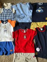 Infant Baby Boy Clothes Lot Size 6 Months                  6 Full Outfits