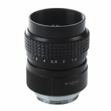 25mm f1.4 C-Mount CCTV Black for PEN E-PL5 E-PM3 E-PM2 E-P1 SH5 NDT