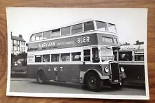 Channel Islands Bus Photo ~ JMT .Surfleet Transport Photograph. Free Postage