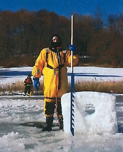 "Fish's Icesaw Ice Saw fishing Spearing folding 84""  New in Box Expedited Ship"