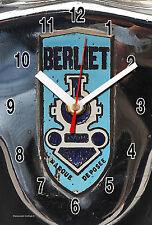 HORLOGE MURALE Logo ANCIEN BERLIET SUR TOLE -04M