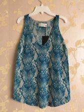 Zadig & Voltaire Serpiente Diseño 100% Cachemir chaleco tamaño: M BNWT
