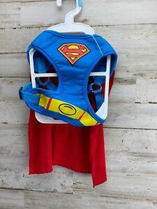 DC Comics Superman Harness With Cape, Dog Costume, Size S NWOT HALLOWEEN  Fun!