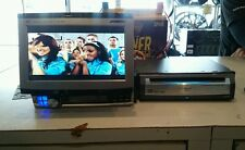 Alpine cva-1014 dve-5207 flip out monitor dvd player combo