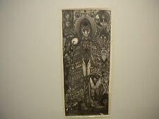 :   Vali Myers Lammas Tide print 1970s New York printing