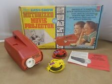 Vintage 1969 Kenner's Motorized Easy Show Movie Projector w/4 Features.