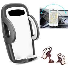 SUPPORTO PORTA CELLULARE AUTO SMARTPHONE BOCCHETTE ARIA VENTOSA UNIVERSALE 360°