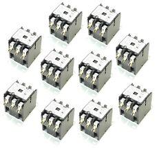 ( 10 ) DP Definite Purpose Contactor 3 Pole 40/50Amp 120V Coil YC-CN-PBC403-2