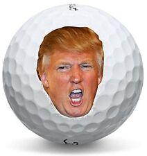 1 Dozen Titleist Pro V1 (Donald Trump UUGE Logo Expression Golf Balls