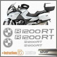 6x R1200RT Silver BMW Motorrad ADESIVI PEGATINA R 1200 RT AUTOCOLLANT AUFKLEBER
