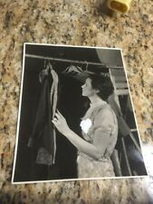 "1933 Photo: Woman Deciding what to wear, 8""x10""  Appleton commercial photog."