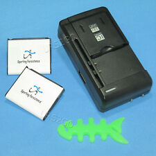 Sporting 1380mAh Battery Travel Charger Winder for Samsung Strive SGH-A687 Phone