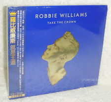 Robbie Williams Take The Crown Deluxe Version Taiwan Ltd CD+DVD w/OBI
