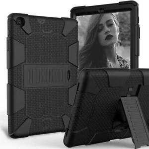 For Samsung Galaxy Tab Heavy Duty Military With Kickstand Shockproof Tablet Case