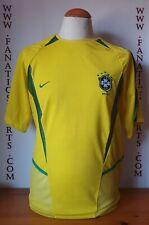 Seleccion BRASIL 2002 Nike Shirt Trikot Maglia Camiseta Futbol