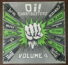 Oi! Chartbusters - Volume 4 Punk Rock UK LP Vinyl Record Link LP054 1988