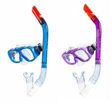 Kinder Schnorchelset 100%Latexfrei Schnorchel Taucherbrille Tauchmaske NEU