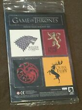 Game of Thrones House Sigil Magnet Set HBO Darkhorse Comics NEW MIP