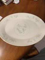 Lenox Oval Serving Platter Special Butterfly And Daisies