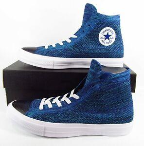 Converse Flyknit Chuck Taylor All Star II 2 Lunarlon True Indigo Blue 157507C 10