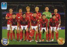 Panini Sticker Fifa 365 2017 Nr. 657 Guangzhou Evergrande Team / Mannschaft Bild