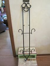 """Decorative Wall Plate Rack/Hanger/Display-Vertical-37"""" Long-New With Tag"""