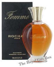 FEMME by ROCHAS   Women's Fragrance 100ml   Eau De Toilette  EDT  NEW & SEALED