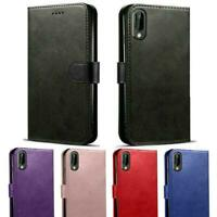 NEW Magnetic Flip Wallet Case Cover For Samsung A10, A20e, A40, A70 (UK))