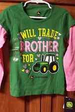NEW John Deere  Tshirt  Size 4 Farm  Tractor Gift