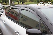 Auto Clover Wind Deflectors Set for Renault Captur (4 pieces)