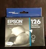 Epson T126120 Genuine Ink Cartridge Epson 126 Black Ink in Box 05/2018 Exp.