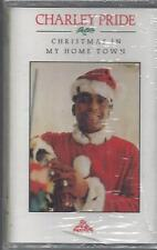 CHARLEY PRIDE Christmas In My Home Town Santa And The Kids  RARE NEW CASSETTE