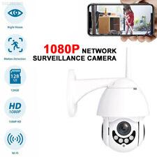Wireless 5XOptical Outdoor CCTV PTZ HD 1080P WIFI IP Camera Dome Security IR Cam
