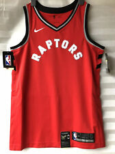 """Nike Connect NBA 'Raptors' Swingman Jersey Top 904143-657 Red Size M Chest 41"""""""