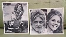 "Vintage 1970s Lindsay Wagner as The Bionic Woman 8"" x 10"" TV Stills Lot!"