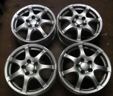 4x Anzio 6x16 ET 45 5x114,3  KBA 47038 Fiat Toyota Suzuki Hyundai Kia Mazda Mits