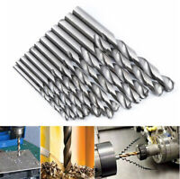 19x Set High Speed Steel Diamond Drill Bit Coated Spiral 1.5mm-10mm Power Tools