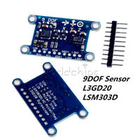 9-Axis L3GD20/LSM303D 9DOF IMU Breakout Pressure Digital Gyroscope Sensor Module