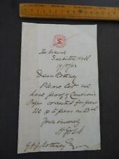 More details for 1903 herbert goss entomologist fossils als  savile club paper press correction