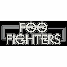 Foo Fighters New Logo Vinyl Sticker | Officially Licensed | High Quality