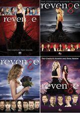 New Revenge: The Complete Seasons 1-4 (DVD, 2015, 20-Disc Set) 1 2 3 4 Free Ship