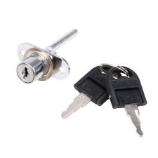 US Silver Zinc Alloy Lock For Door Cabinet Cupboard Drawer Desk Locks with Key