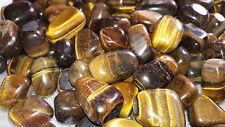 Tiger Eye Natural Stone Tumbled 100 Grm