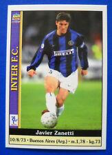 CARD MUNDICROMO CALCIO 2001 - n. 140 - J. ZANETTI - INTER