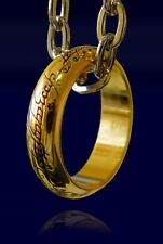 IL SIGNORE DEGLI ANELLI L'UNICO ANELLO FRODO RING LORD OF THE RINGS COSPLAY